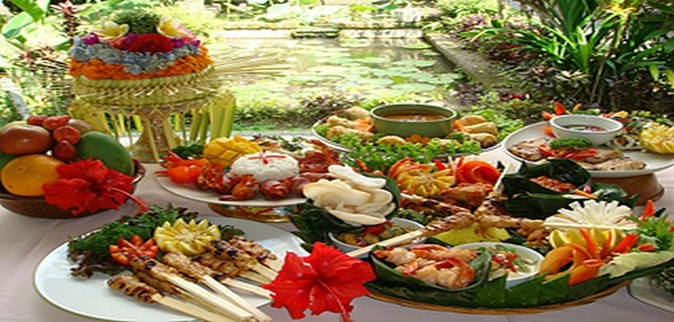 Bali Catering Balinese traditional Buffet